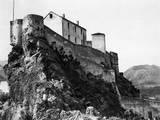 Corsica, Corte, Citadel Photographic Print