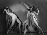 Masks of Lucifer Ballet Photographic Print