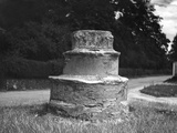 Caston Cross Base Photographic Print