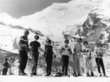 Learning to Ski Fotoprint