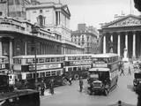 Bank, London 1930S Photographic Print