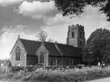 Ickburgh Church Photographic Print