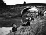 Young Anglers Photographic Print