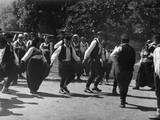 Serbian Folk Dancers Photographic Print