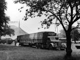 Bertram Mills' Lorry Photographic Print