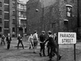 Paradise Street Football Fotografisk trykk