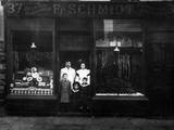 Schmidt's Butchers 1900 Photographic Print