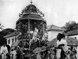 Hindu Vel Festival Reprodukcja zdjęcia