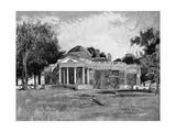Monticello, Century, P646 Giclee Print