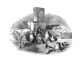 A Casting-Pit of a Bell Foundry, C. 1830 Giclee Print