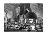 Flint Glass Furnace Giclee Print