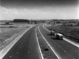 Newly Built M1 Motorway Photographic Print