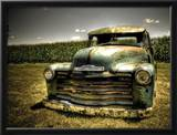 Chevy Truck Framed Photographic Print by Stephen Arens
