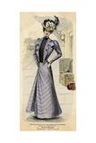 Promenade Dress 1899 Giclee Print