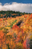 Fall Color Hills at Holderness New Hampshire Photographic Print by Vincent James