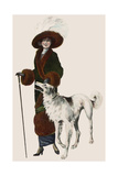 Fashionable Women Giclee Print