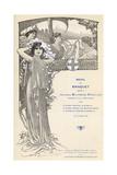 Menu, Poincare Banquet Giclee Print