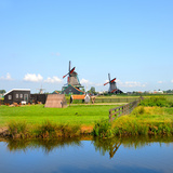 Windmill Amsterdam Photographic Print by  Graphicstockphoto