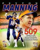 Peyton Manning NFL All-Time leader in career Touchdown Passes Composite Photo