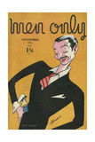 Cover Design, Men Only, Walt Disney Giclee Print