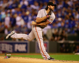 Madison Bumgarner Game 1 of the 2014 World Series Action Photo