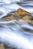 Virgin River Abstract Zion National Park Utah Photographic Print by Vincent James