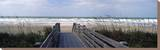 Boardwalk on the Beach, Nokomis, Sarasota County, Florida, USA Stretched Canvas Print by  Panoramic Images