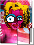 Instants of NY Series - Colors Street Art Poster von Philippe Hugonnard