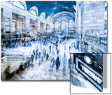 Urban Vibrations Series, Fine Art, Grand Central Terminal, Manhattan, New York City, United States Print by Philippe Hugonnard