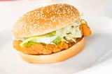 Crispy Chicken Burger Photographic Print by  calvste
