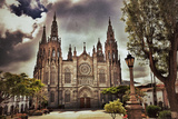 Cathedral in Arucas, Gran Canaria Photographic Print by Oleg Znamenskiy