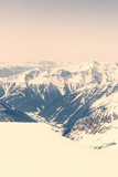 Alpine Valley Surrounded with Mountains Photographic Print by Anze Bizjan