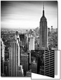 Lifestyle Instant, Skyline, Empire State Building, Manhattan, Black and White Photography, NYC, US Prints by Philippe Hugonnard