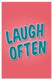 Reír a  menudo Pósters