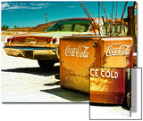 Photography Style, Route 66, Gas Station, Arizona, United States, USA Print by Philippe Hugonnard