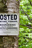 Hunting Fishing Trespassing Stictly Forbidden Photo Print Poster Posters