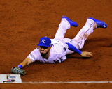 Eric Hosmer Game 2 of the 2014 World Series Action Photo