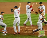 Cardinals - 2006 NLCS Celebrate Winning Game 7 Photo