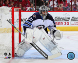 Ondrej Pavelec 2014-15 Action Photo