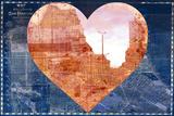 Heart SFC Plastic Sign