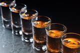 Glasses with an Alcoholic Drink Photographic Print by  igorr