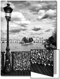 The Seine River - Pont des Arts - Paris Art by Philippe Hugonnard