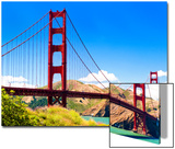 Landscape - Golden Gate Bridge - San Francisco - California - United States Prints by Philippe Hugonnard