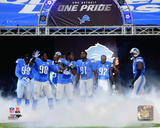 Detroit Lions 2014 Team Introduction Photo