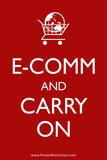 Ecom and Carry On Humor Print Poster Prints