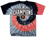 San Francisco Giants - 2014 World Series Champions Spiral Dye T-shirts