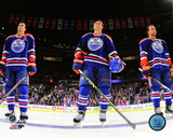 Jordan Eberle, Ryan Nugent-Hopkins, & Taylor Hall 2014 Photo