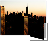 NYC Cityscape with the One World Trade Center (1WTC) at Sunset Prints by Philippe Hugonnard