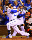 Omar Infante Home Run Game 2 of the 2014 World Series Photo