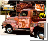 Truck - Route 66 - Gas Station - Arizona - United States Posters by Philippe Hugonnard
